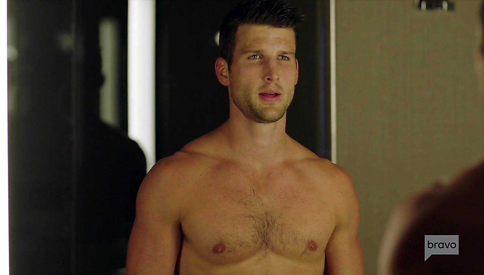 Parker Young sexy shirtless scene February 16, 2017, 12pm