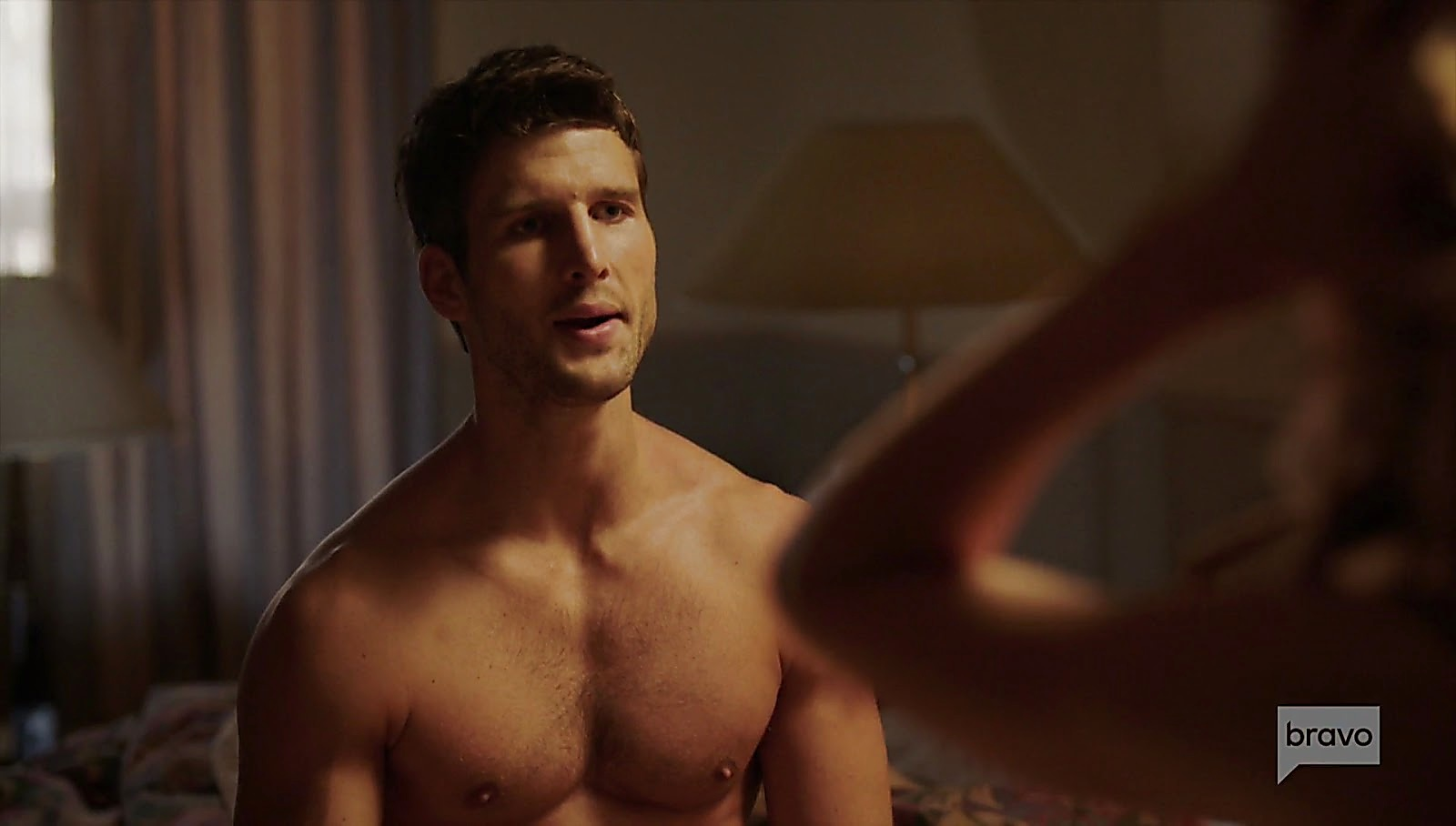 Parker Young sexy shirtless scene April 5, 2017, 12pm