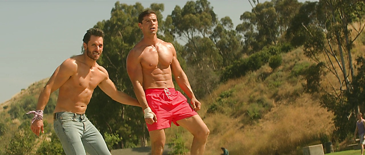 Parker Young latest sexy shirtless scene November 15, 2017, 12pm