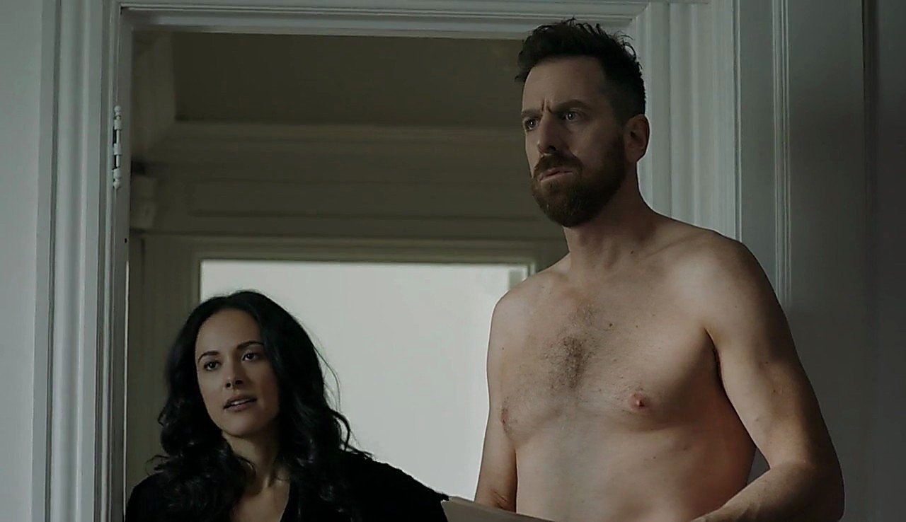 Patrice Robitaille sexy shirtless scene March 19, 2017, 4pm