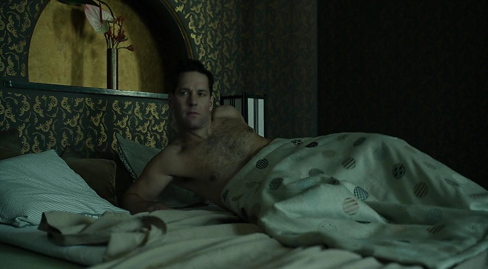 Paul Rudd sexy shirtless scene June 29, 2018, 12pm