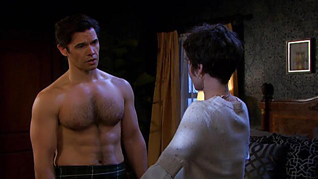 Paul Telfer sexy shirtless scene March 4, 2021, 7am