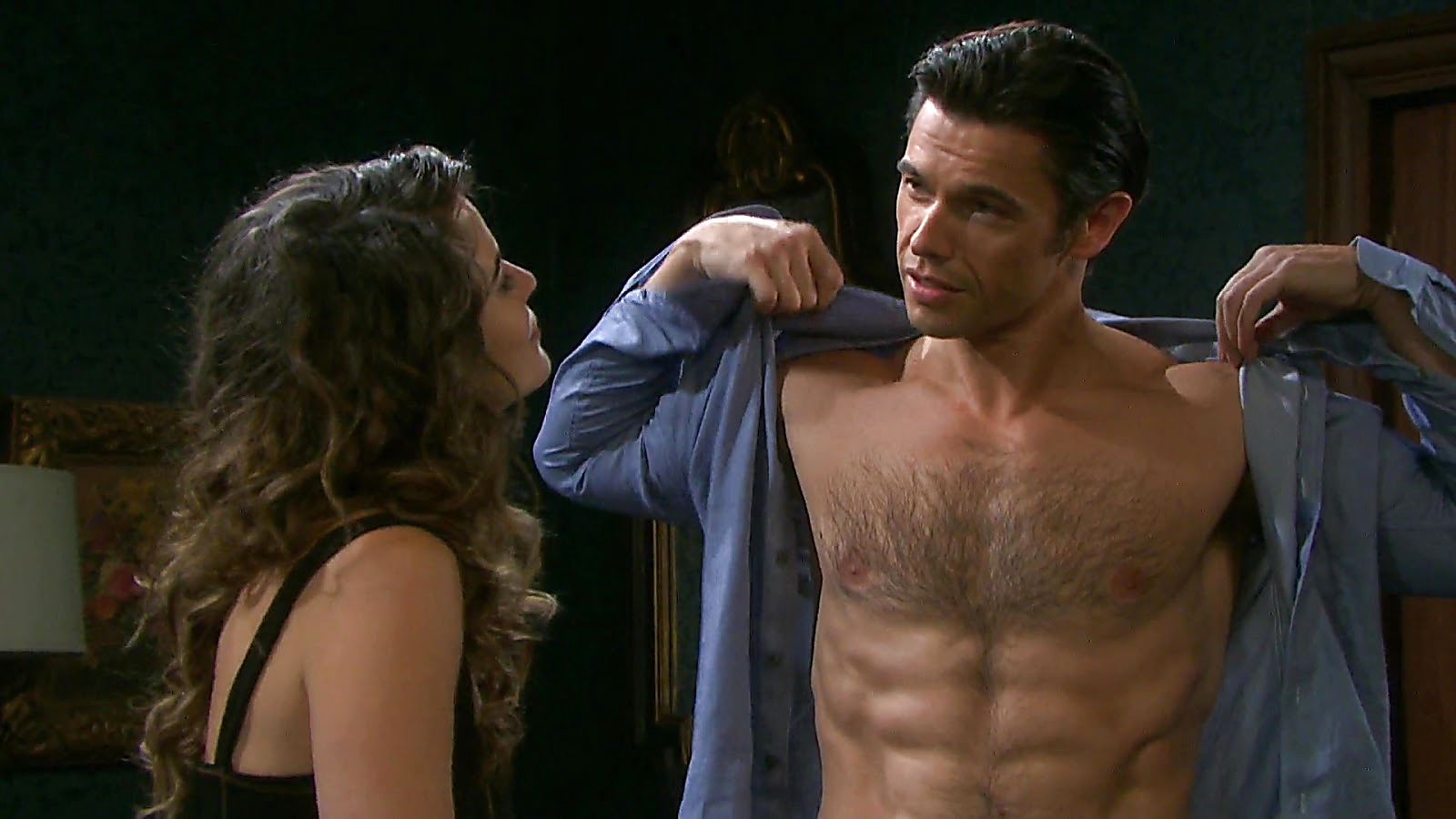 Paul Telfer sexy shirtless scene March 25, 2020, 11am
