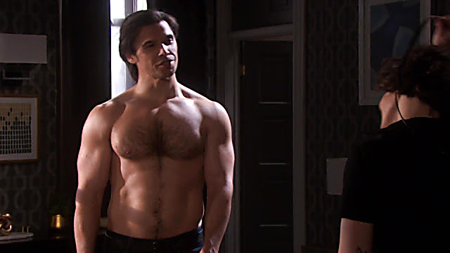 Paul Telfer sexy shirtless scene September 22, 2020, 1pm