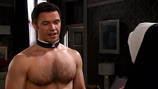 Paul Telfer sexy shirtless scene April 5, 2021, 11am