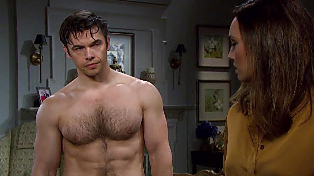 Paul Telfer sexy shirtless scene July 2, 2021, 4am