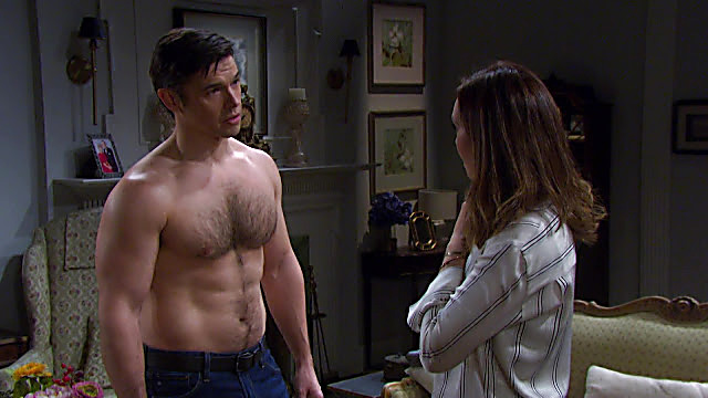 Paul Telfer sexy shirtless scene July 13, 2021, 8am