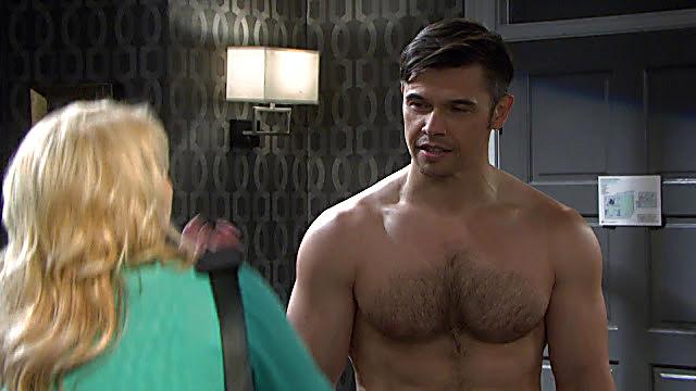 Paul Telfer sexy shirtless scene September 4, 2021, 5am