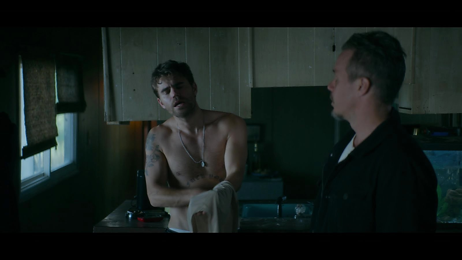 Paul Wesley sexy shirtless scene October 31, 2018, 2pm