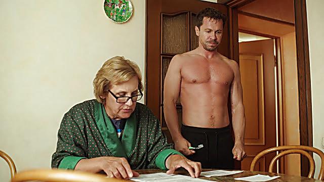 Pavel Derevyanko sexy shirtless scene February 7, 2021, 12pm