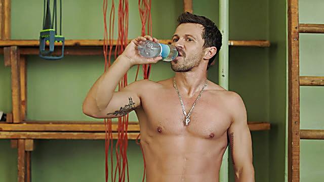 Pavel Derevyanko sexy shirtless scene January 5, 2021, 3pm