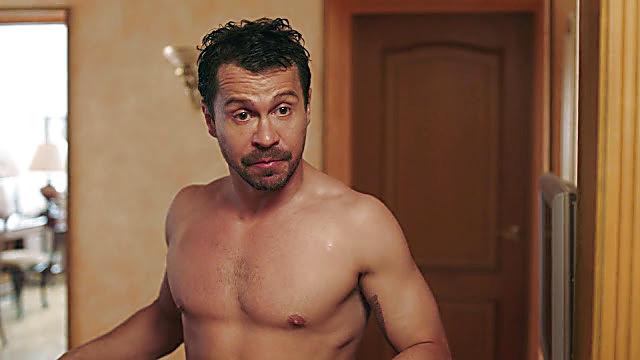 Pavel Derevyanko sexy shirtless scene March 1, 2021, 1pm