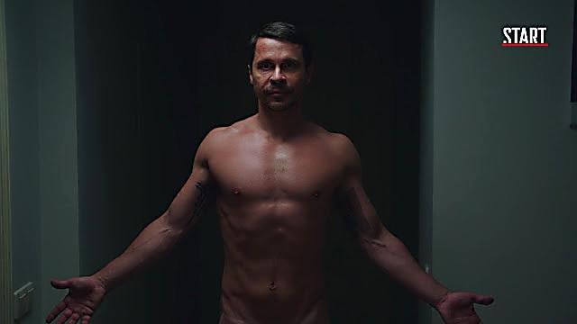 Pavel Derevyanko sexy shirtless scene June 11, 2021, 4am