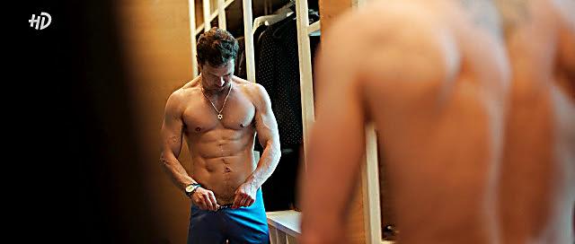 Pavel Derevyanko sexy shirtless scene October 29, 2020, 7am