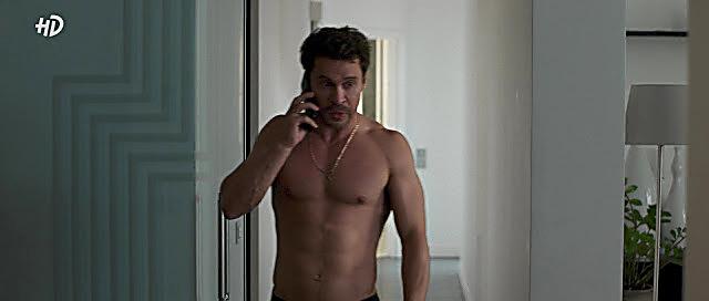 Pavel Derevyanko sexy shirtless scene November 6, 2020, 6am