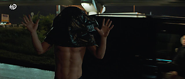 Pavel Derevyanko sexy shirtless scene November 26, 2020, 4am