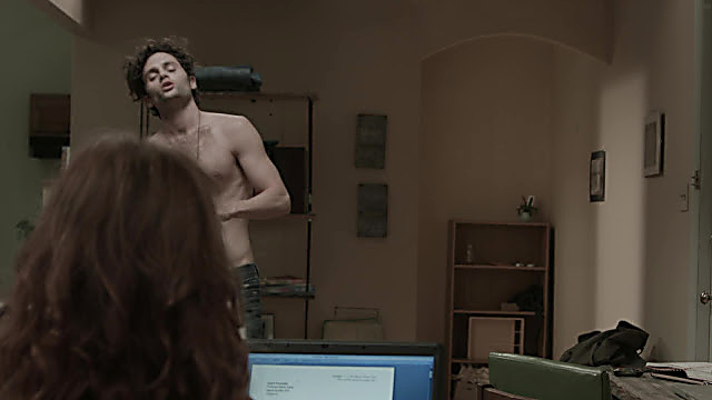 Penn Badgley sexy shirtless scene October 4, 2020, 7am