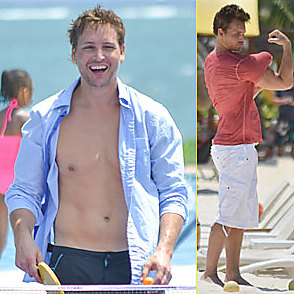 Peter Facinelli latest sexy shirtless March 31, 2014, 8am