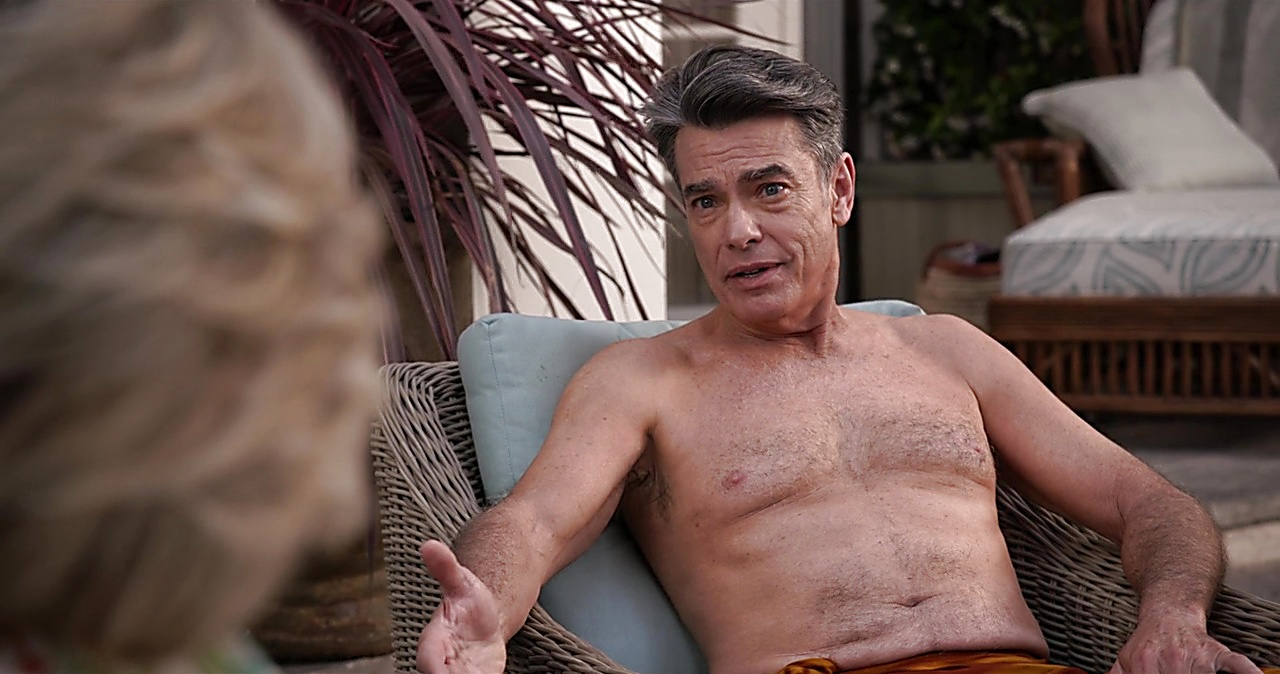 Peter Gallagher sexy shirtless scene January 18, 2019, 10am