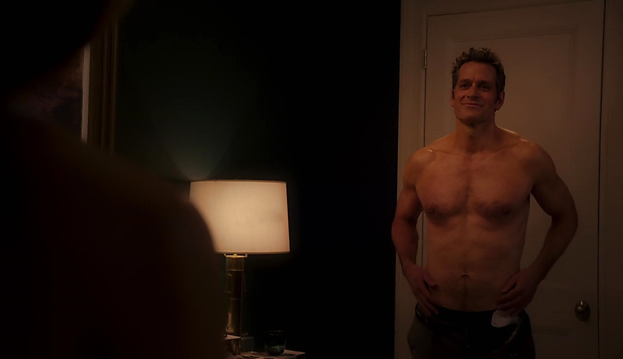 Peter Hermann sexy shirtless scene August 7, 2018, 12pm