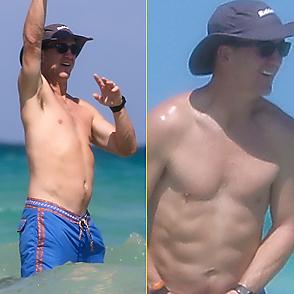 Peyton Manning latest sexy shirtless October 15, 2020, 7pm