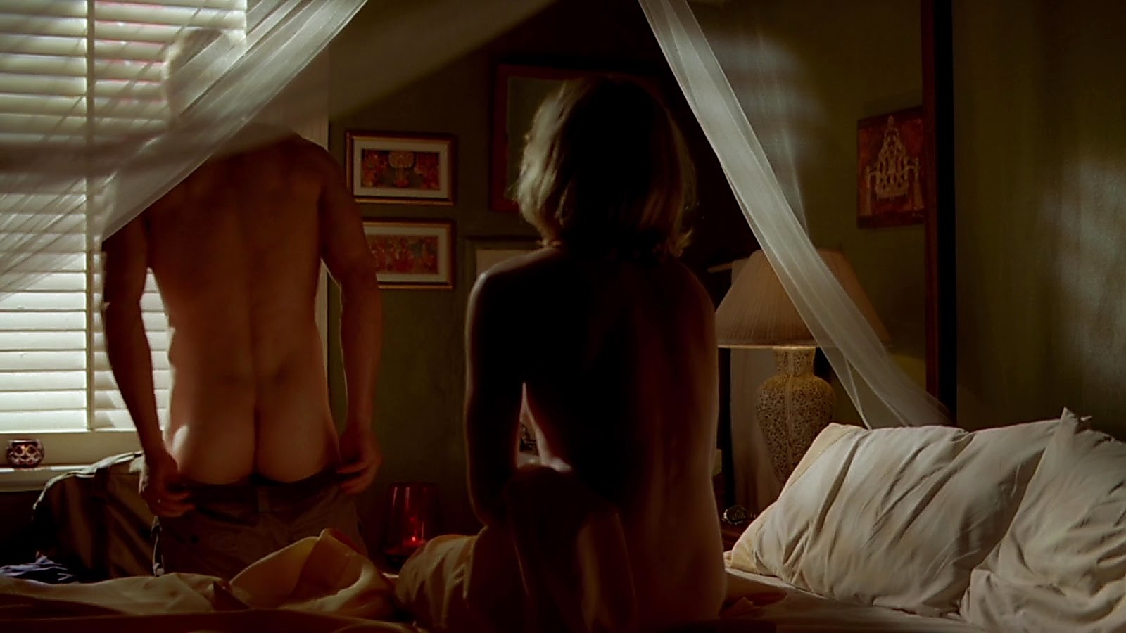 Philip Winchester sexy shirtless scene February 29, 2020, 6am