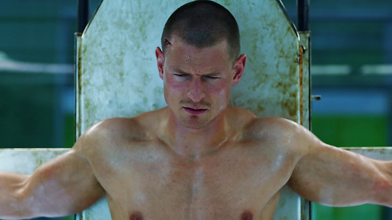 Philip Winchester sexy shirtless scene April 6, 2020, 6am