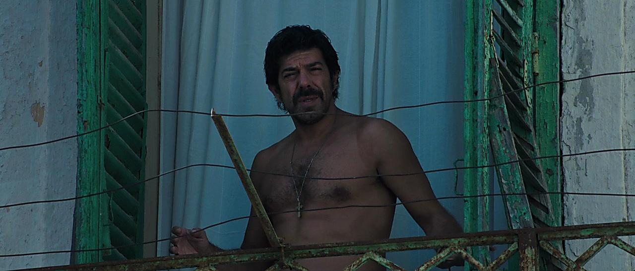 Pierfrancesco Favino sexy shirtless scene January 20, 2018, 11am