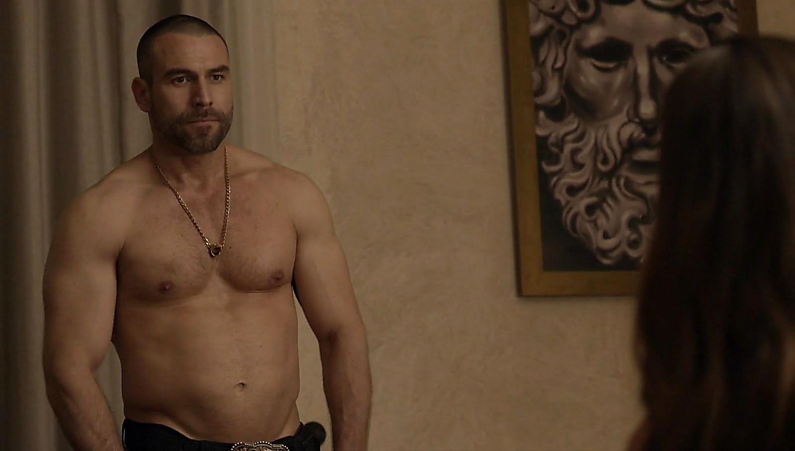 Rafael Amaya latest sexy shirtless scene July 3, 2018, 11am