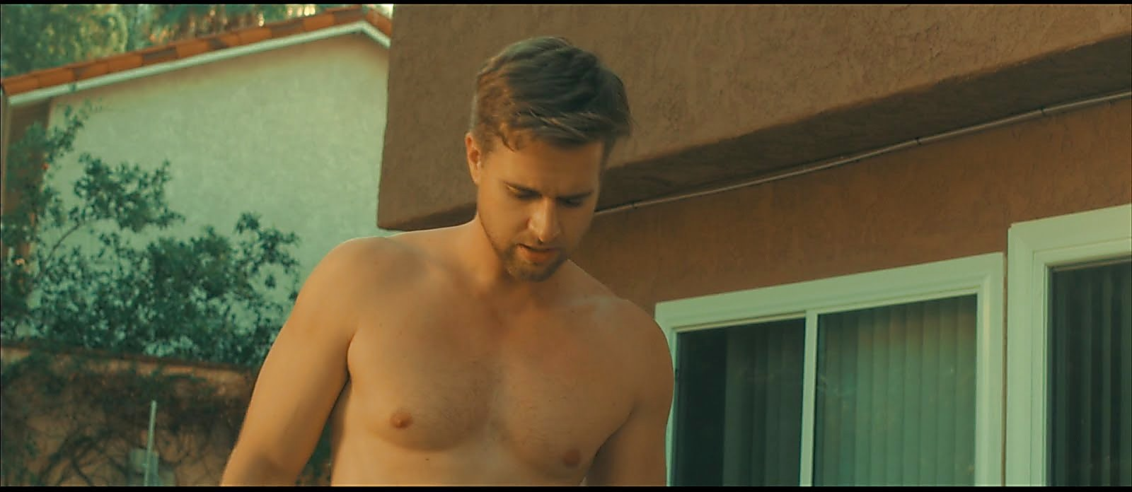 Randy Wayne sexy shirtless scene February 1, 2018, 11am