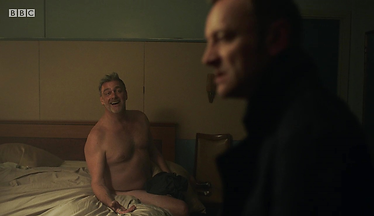 Ray Stevenson sexy shirtless scene October 3, 2017, 1pm