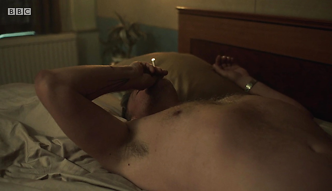Ray Stevenson latest sexy shirtless scene October 3, 2017, 1pm