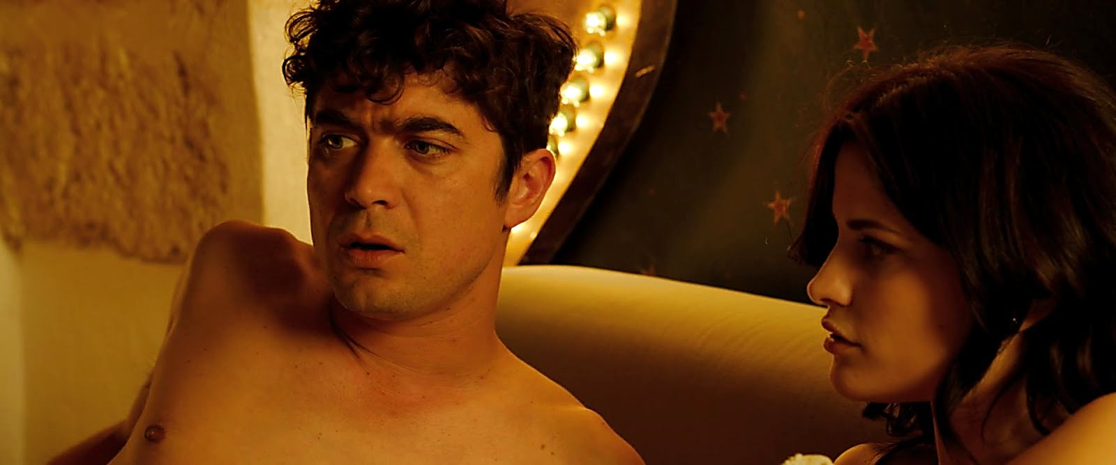 Riccardo Scamarcio sexy shirtless scene December 8, 2017, 3pm