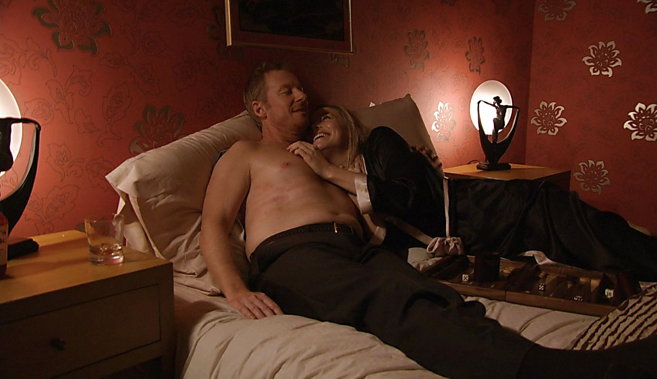 Richard Roxburgh sexy shirtless scene May 11, 2017, 11am