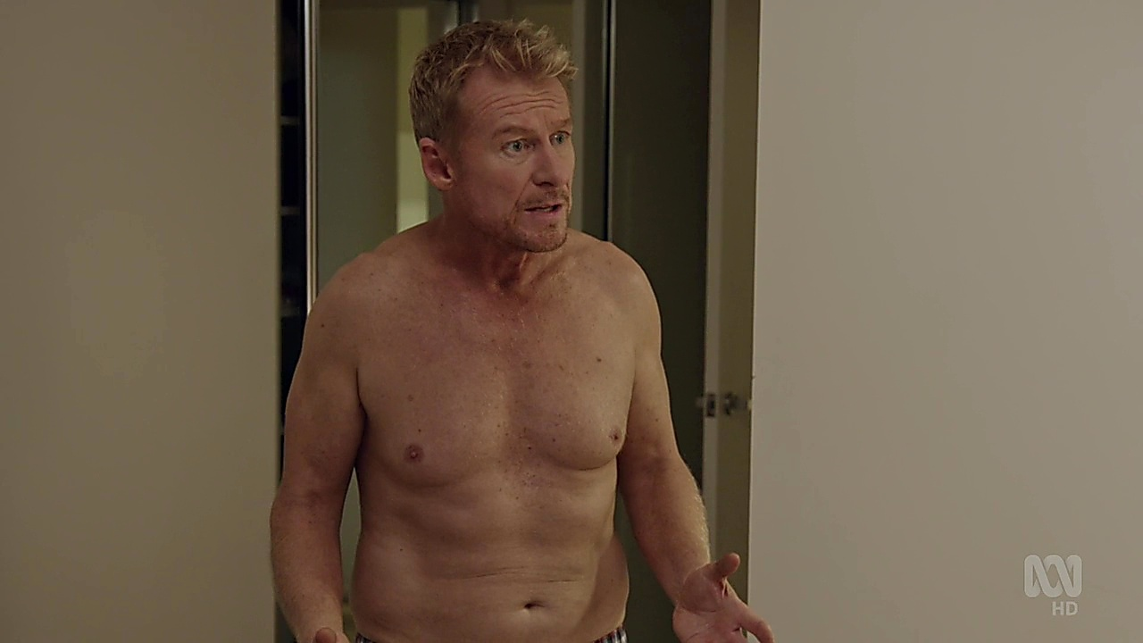 Richard Roxburgh sexy shirtless scene September 2, 2018, 12pm
