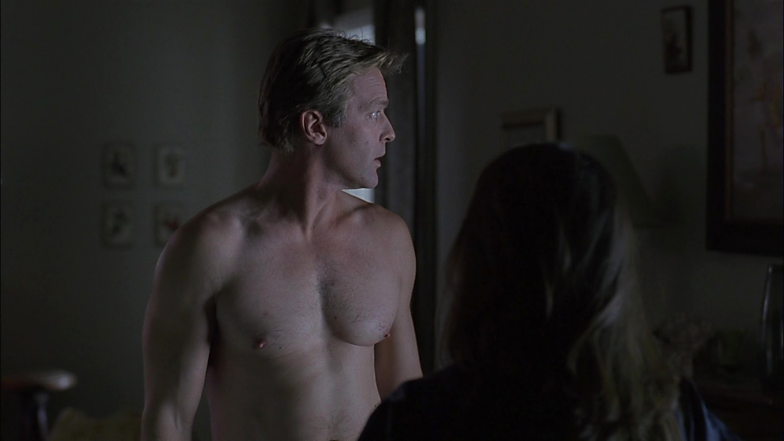 Roark Critchlow sexy shirtless scene January 12, 2020, 3pm