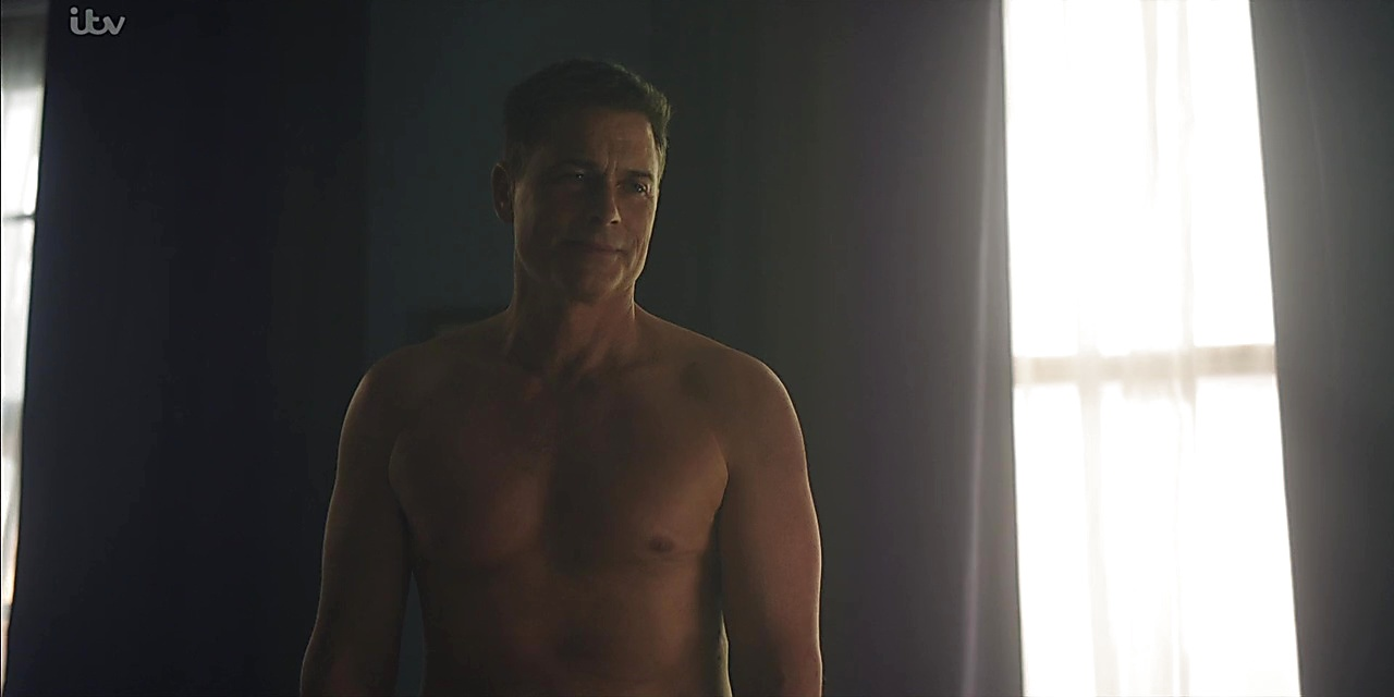 Rob Lowe sexy shirtless scene June 27, 2019, 3pm