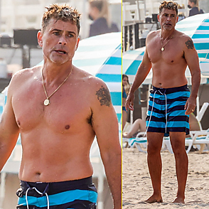 Rob Lowe latest sexy shirtless August 23, 2020, 10pm