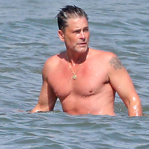 Rob Lowe latest sexy shirtless April 3, 2021, 11pm
