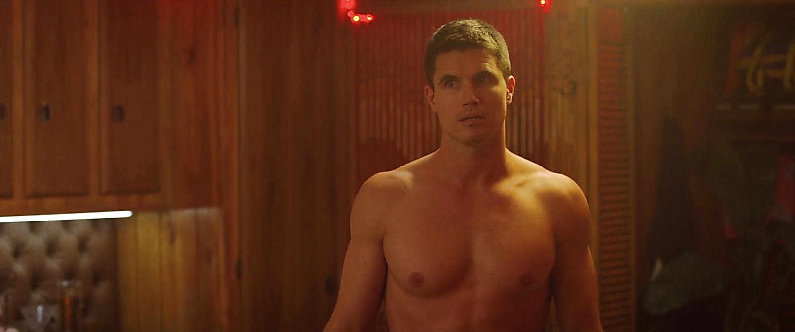 Robbie Amell sexy shirtless scene September 10, 2020, 8am