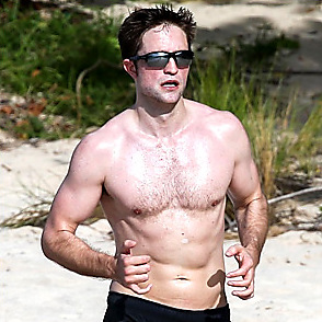 Robert Pattinson latest sexy shirtless February 5, 2018, 6pm