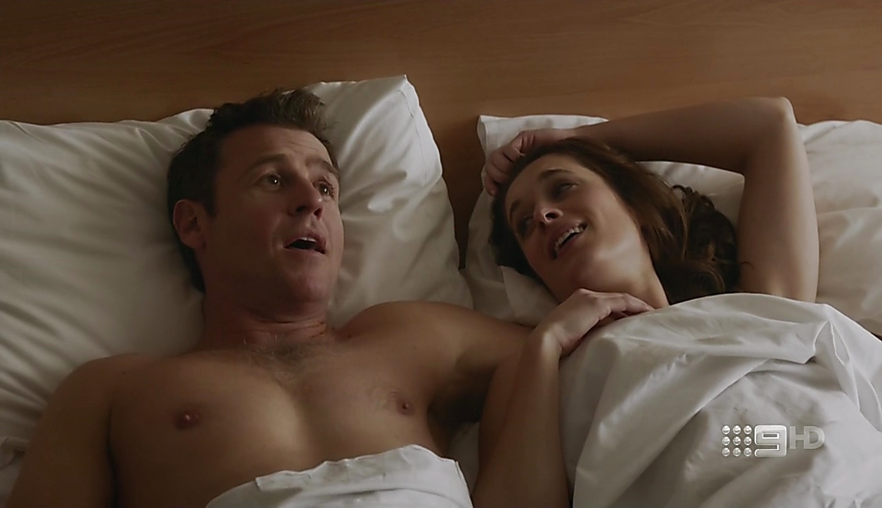 Rodger Corser sexy shirtless scene August 17, 2017, 11am