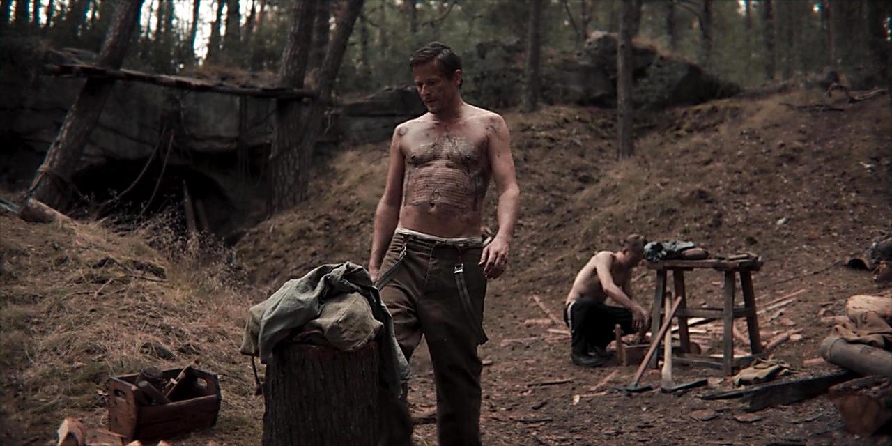 Roman Knizka sexy shirtless scene June 23, 2019, 12pm