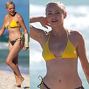 Rose Mcgowan latest sexy shirtless November 23, 2020, 7pm