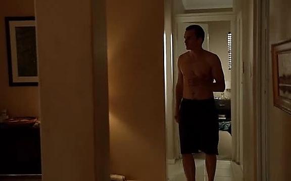 Rupert Friend sexy shirtless scene October 27, 2014, 11am
