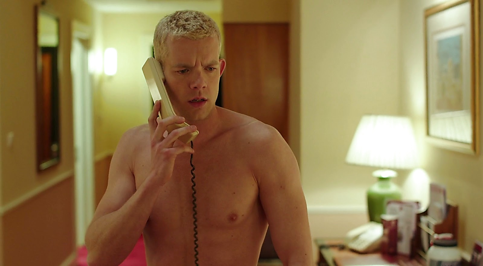Russell Tovey sexy shirtless scene April 16, 2017, 3pm