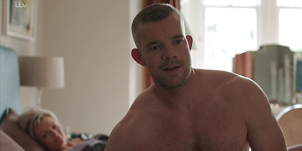 Russell Tovey sexy shirtless scene February 25, 2020, 3pm