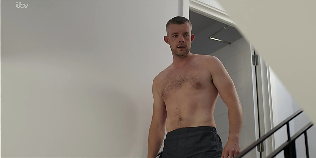 Russell Tovey sexy shirtless scene February 28, 2020, 6am