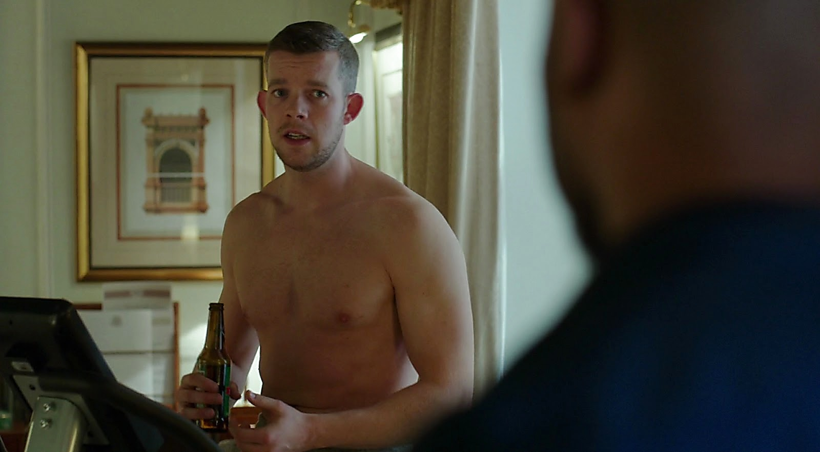 Russell Tovey sexy shirtless scene April 17, 2017, 9am