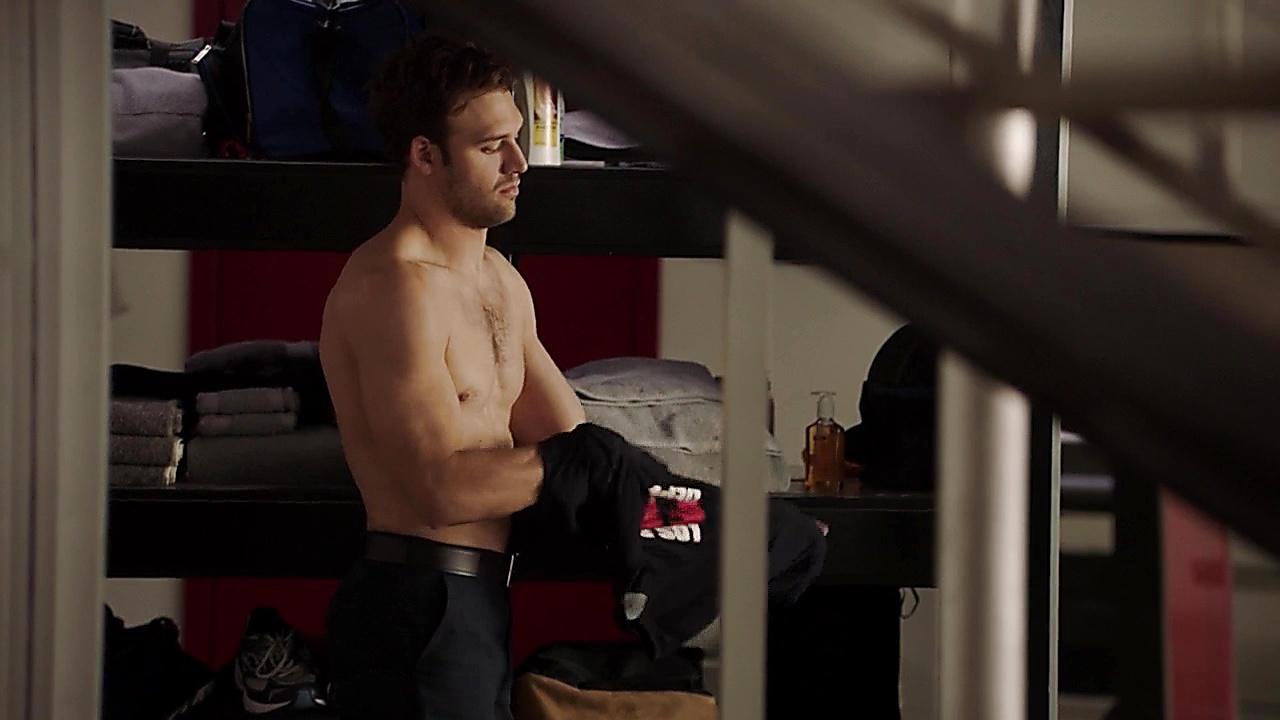 Ryan Guzman sexy shirtless scene September 25, 2018, 10am